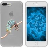 Apple iPhone 7 Plus / 8 Plus Funda de silicona animales de vectores M7