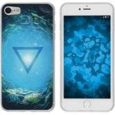 Apple iPhone 7 Silicone Case Elements design 7