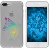 Apple iPhone 7 Plus / 8 Plus Silicone Case floralFox M1-4
