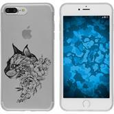 Apple iPhone 7 Plus / 8 Plus Silicone Case floral M2-1