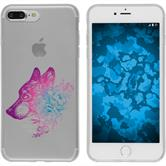 Apple iPhone 7 Plus / 8 Plus Silicone Case floral M3-6