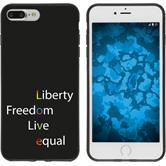 Apple iPhone 8 Plus Custodia in Silicone pride  M2