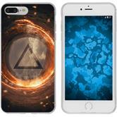Apple iPhone 8 Plus Silicone Case Element fire M3