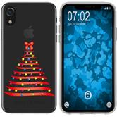 Apple iPhone Xr Custodia in Silicone Natale X Mas  M1