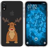 Apple iPhone Xr Silikon-Hülle X Mas Weihnachten  M3