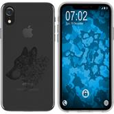 Apple iPhone Xr Silicone Case floral M3-1