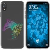 Apple iPhone Xr Custodia in Silicone floral  M5-4