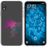 Apple iPhone Xr Silicone Case floral M5-6