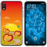 Apple iPhone Xr Silicone Case autumn M2