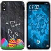 Apple iPhone Xr Silicone Case Easter M6
