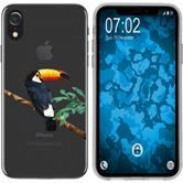 Apple iPhone Xr Silicone Case vector animals M5