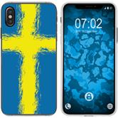 Apple iPhone Xs Max Silicone Case WM Sweden M12