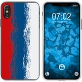Apple iPhone Xs Max Silicone Case WM Russia M9