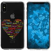 Apple iPhone X / XS Silicone Case pride M5
