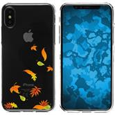 Apple iPhone X Silikon-Hülle Herbst  M1