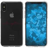 Apple iPhone X Silicone Case in Love M2