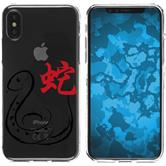 Apple iPhone X / XS Silicone Case Chinese Zodiac M6