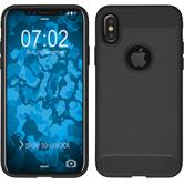 Silikon Hülle iPhone X Ultimate grau Case