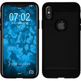 Silikon Hülle iPhone X Ultimate schwarz Case