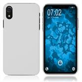 Hardcase iPhone Xr rubberized white Cover