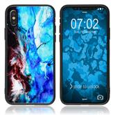 Hybrid Case iPhone Xs  Design:04 Cover