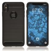 Silikon Hülle iPhone Xs Max Ultimate schwarz Case