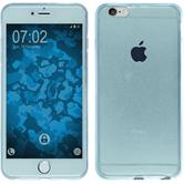 Silikon Hülle iPhone 6s / 6 360° Fullbody hellblau Case