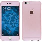 Silikon Hülle iPhone 6s / 6 360° Fullbody rosa Case