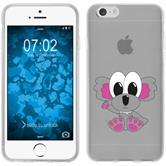 Apple iPhone 6s / 6 Funda de silicona Cutiemals Motivo 6