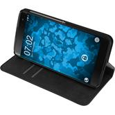 Artificial Leather Case DTEK60 Bookstyle black