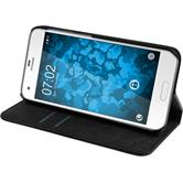 Artificial Leather Case One A9s Bookstyle black