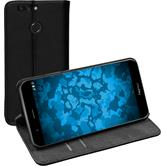 Artificial Leather Case Honor 8 Pro Bookstyle black
