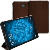 Artificial Leather Case Galaxy Tab A 10.1 (2016) Tri-Fold brown