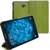 Artificial Leather Case Galaxy Tab A 10.1 (2016) Tri-Fold green