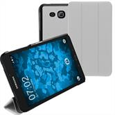 Artificial Leather Case Galaxy Tab A 7.0 2016 (T280) Tri-Fold white