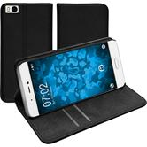 Artificial Leather Case Mi 5s Bookstyle black