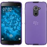 Silicone Case DTEK60 transparent purple + protective foils