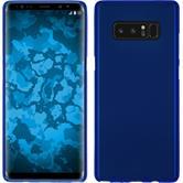 Silicone Case Galaxy Note 8 matt blue + Flexible protective film