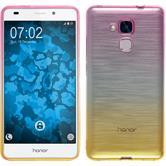 Coque en Silicone pour Huawei Honor 5C Ombrè Design:01