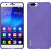 Coque en Silicone pour Huawei Honor 6 Plus X-Style pourpre