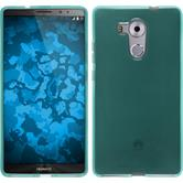 Coque en Silicone pour Huawei Mate 8 transparent turquoise