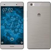 Coque en Silicone pour Huawei P8 Lite 360° Fullbody gris