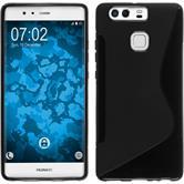 Coque en Silicone pour Huawei P9 S-Style noir