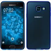 Coque en Silicone pour Samsung Galaxy A3 (2016) A310 Slim Fit bleu