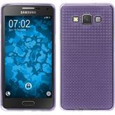 Coque en Silicone pour Samsung Galaxy A5 (A500) Iced pourpre