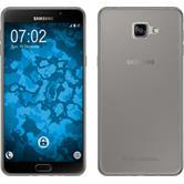 Coque en Silicone pour Samsung Galaxy A9 (2016) Slimcase gris