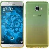 Coque en Silicone pour Samsung Galaxy C7 Ombrè Design:03
