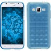 Coque en Silicone pour Samsung Galaxy J2 Iced bleu clair