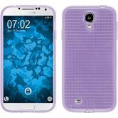 Coque en Silicone pour Samsung Galaxy S4 Iced pourpre