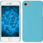Coque Rigide pour Apple iPhone 7 gommée bleu clair